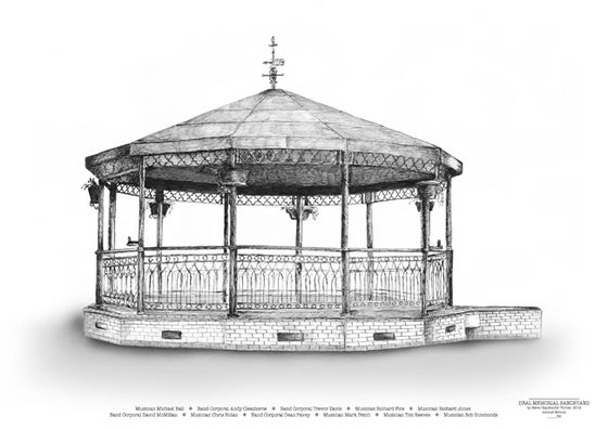 Image of DEAL MEMORIAL BANDSTAND