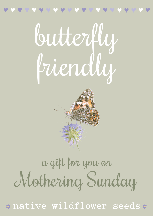 Image of Butterfly Friendly Mother's Day - NEW Watercolour Design
