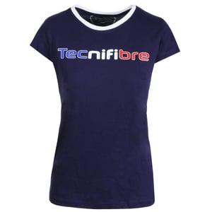 Image of Tshirt Femmes floqué AZUR