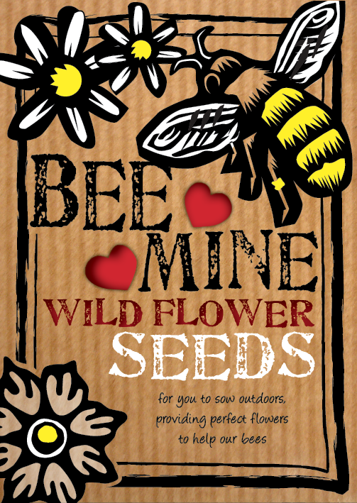 Image of 'Bee Mine' Wildflower Seeds