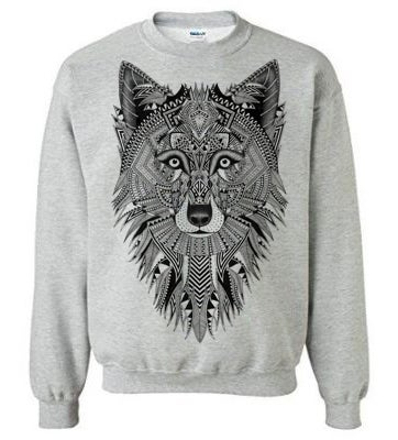 Image of Gray Wolf Sweater