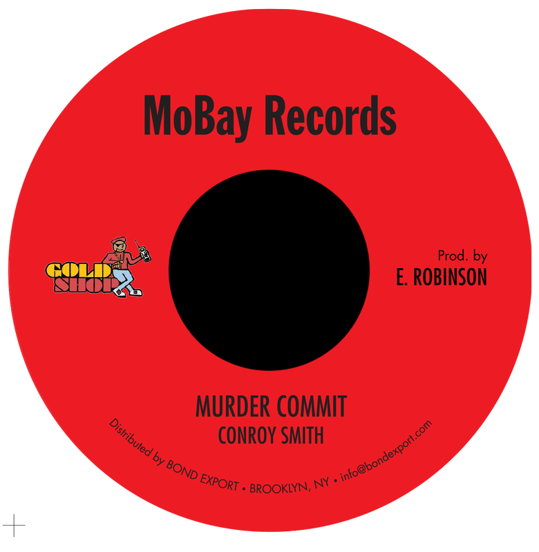 "Image of Conroy Smith - Murder Commit 7"" (MoBay Records)"