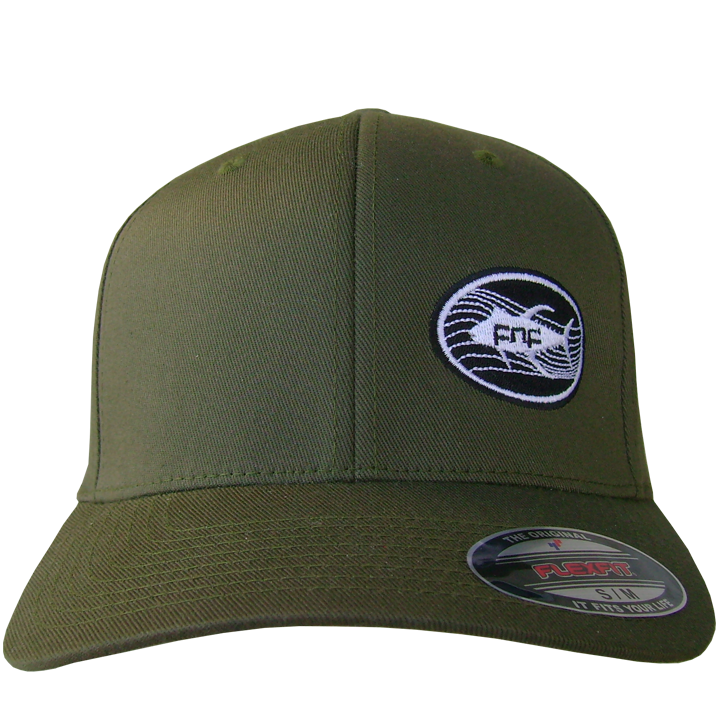 Image of Tuna Emblem Fitted Hat (olive)