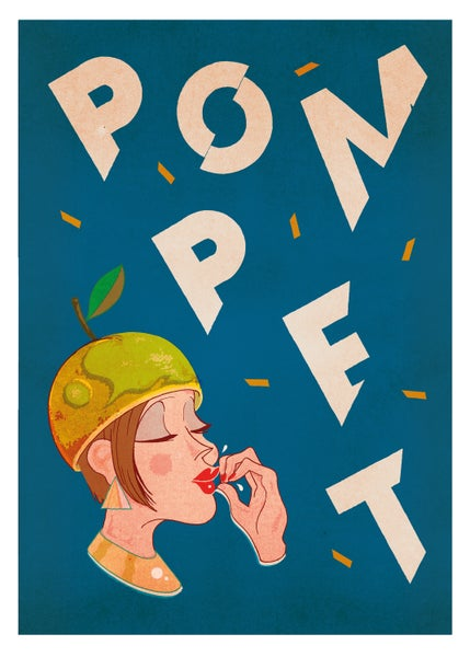 Image of Pompet - Apple Hat (50x70cm)