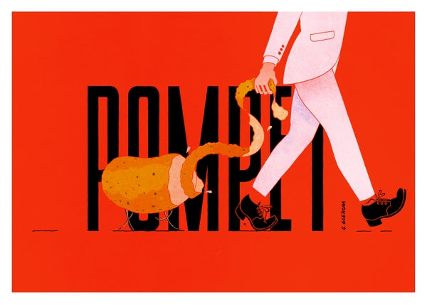Image of Pompet - Pomme Pet (70x50cm)