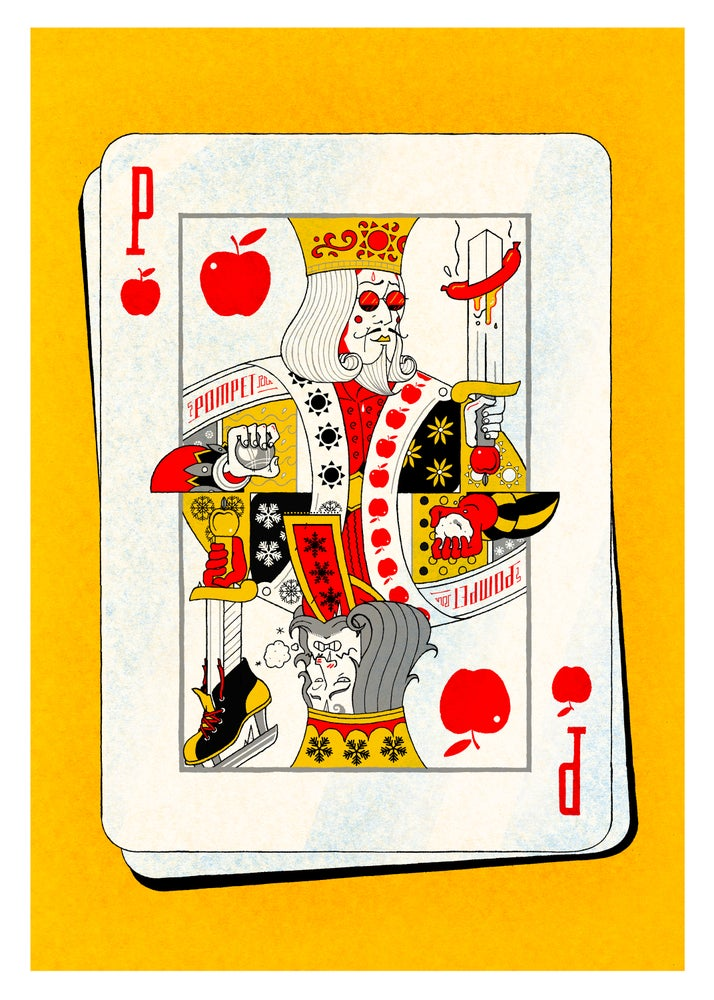 Image of Pompet - Playing Card (50x70cm)