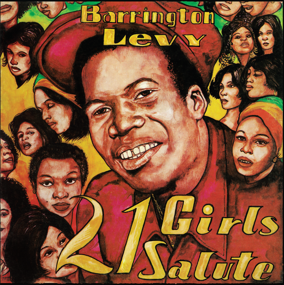 Image of Barrington Levy - 21 Girls Salute LP (Jah Life)