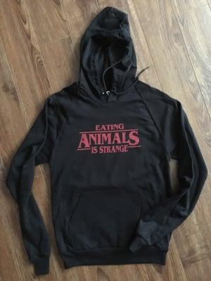 Image of Eating Animals is Strange  t-shirt