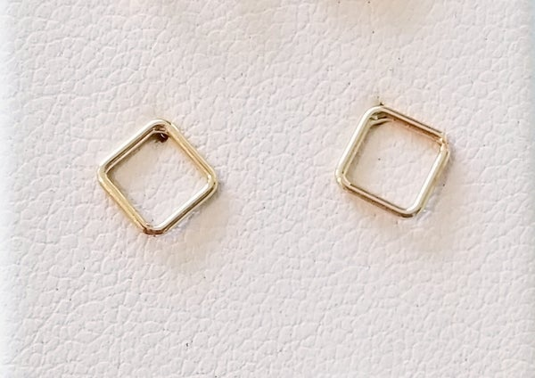 Image of open square studs
