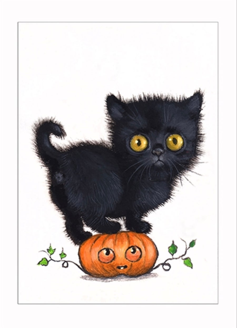 """Image of """"Pumpkin"""" archival ACEO print"""