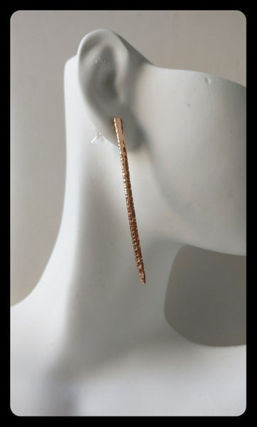 Image of spike earring stud