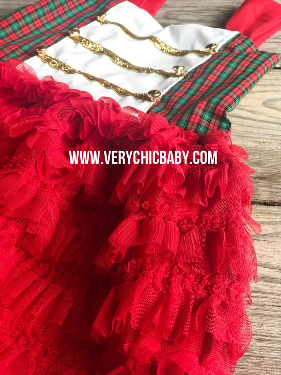 Image of Christmas Ruffle Dress