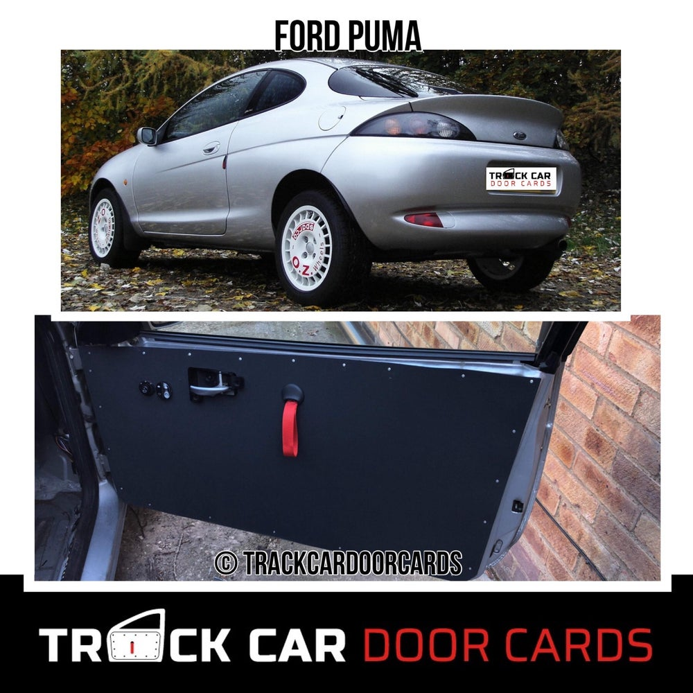 Image of Ford Puma - Track Car Door Cards