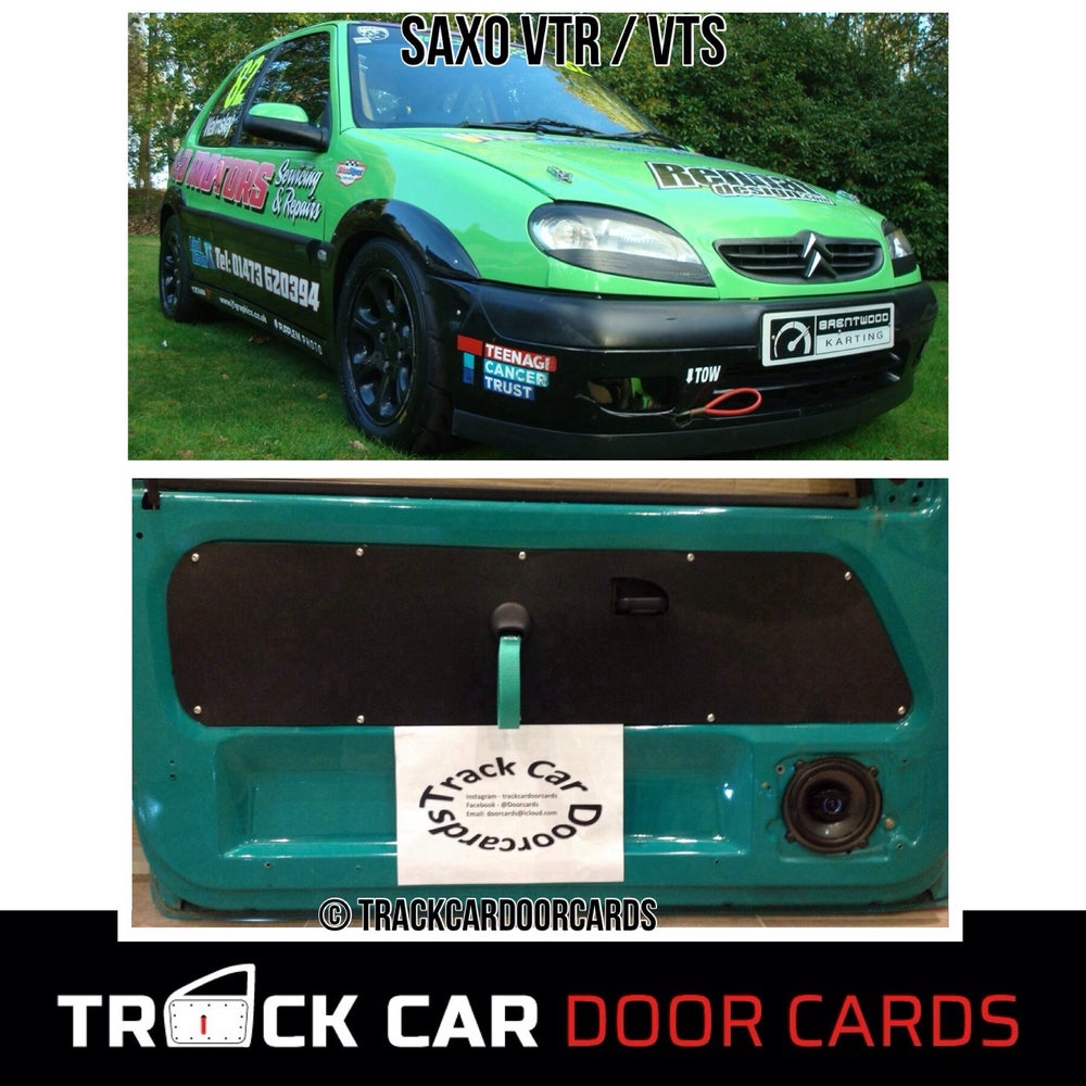 Image of Citroen Saxo VTR/VTS - Partial Track Car Door Cards