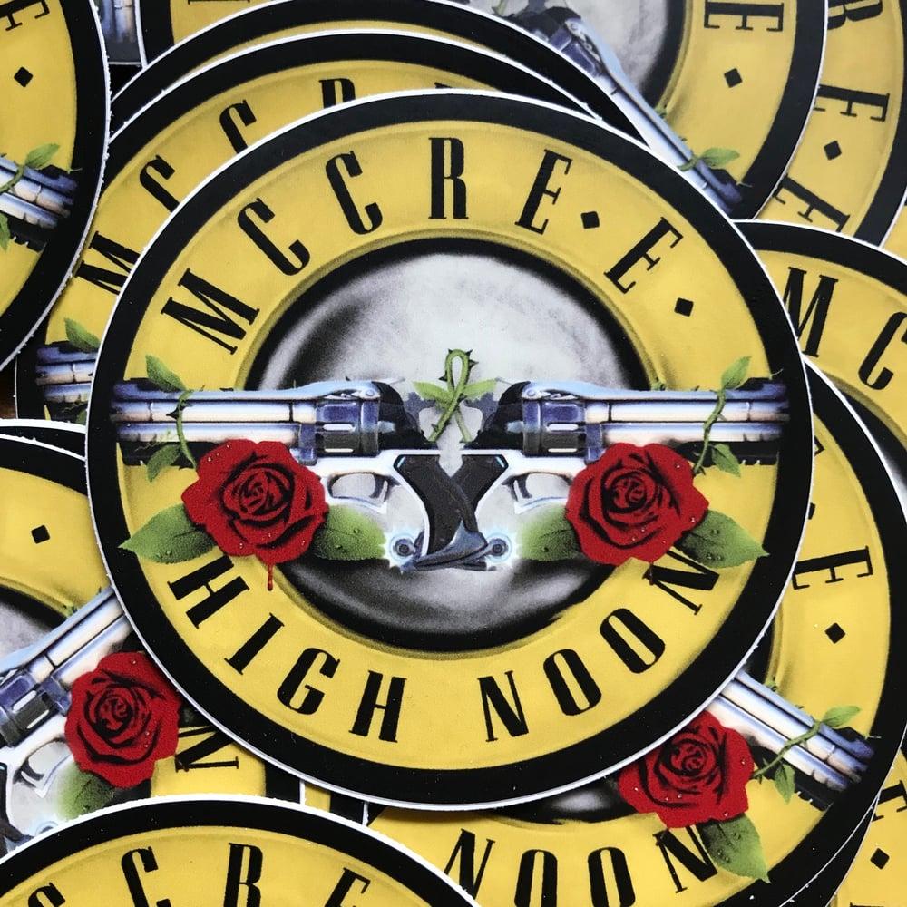 Image of McCree x Guns n Roses sticker