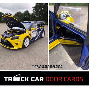 Image of Ford Focus MK2 - Track Car Door Cards