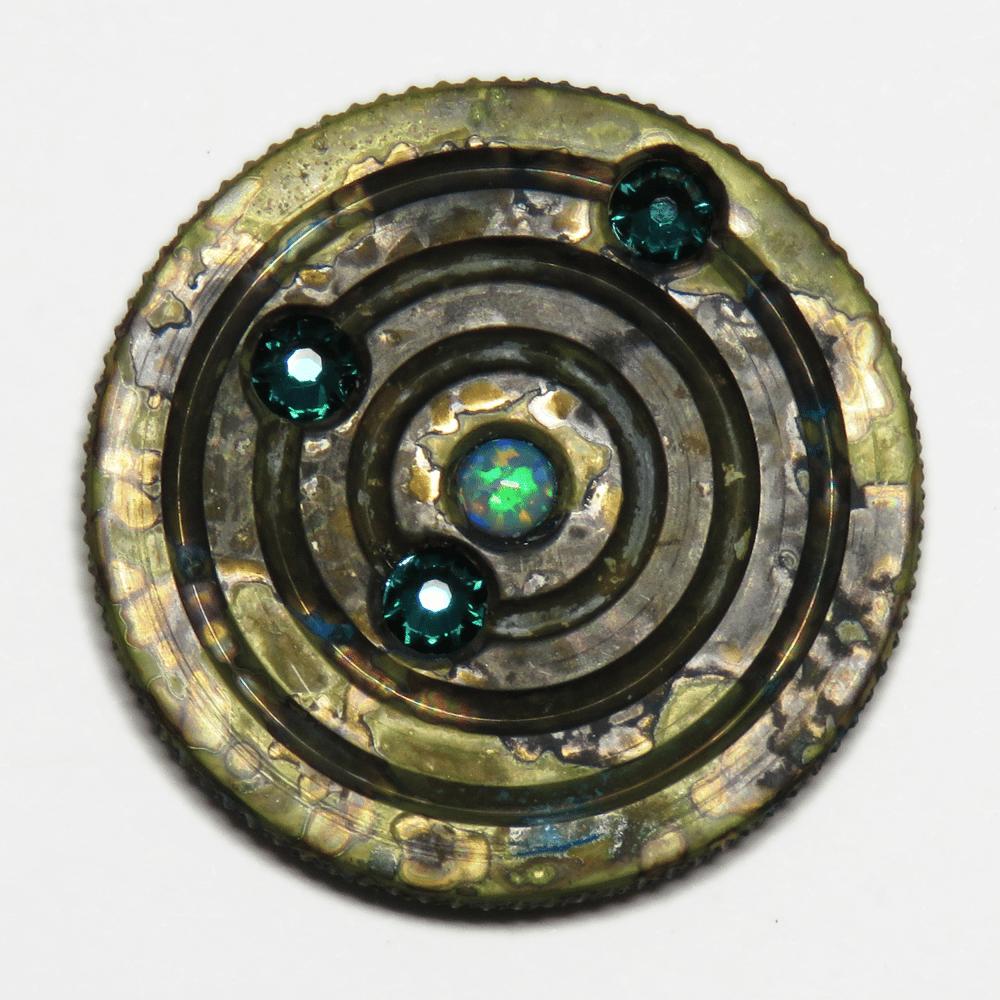 Image of Brass Orbit Pins #5, #6, #7, #8