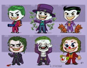 Image of Evolution of the Joker
