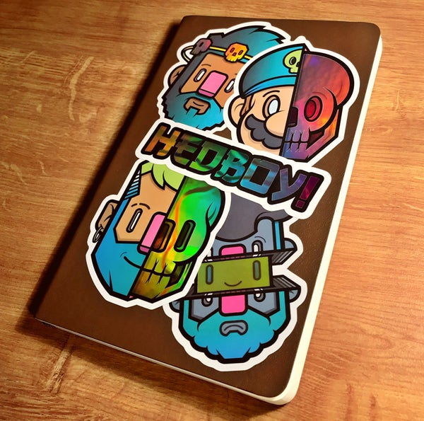 Image of INSIDERZ! Holographic sticker pack!