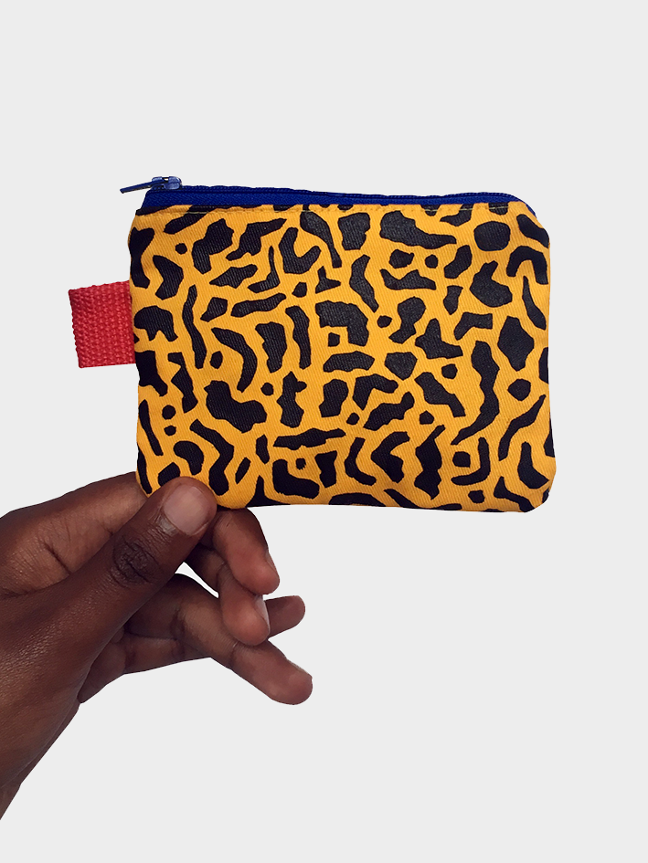 Image of 'Cheetah' Coin Purse