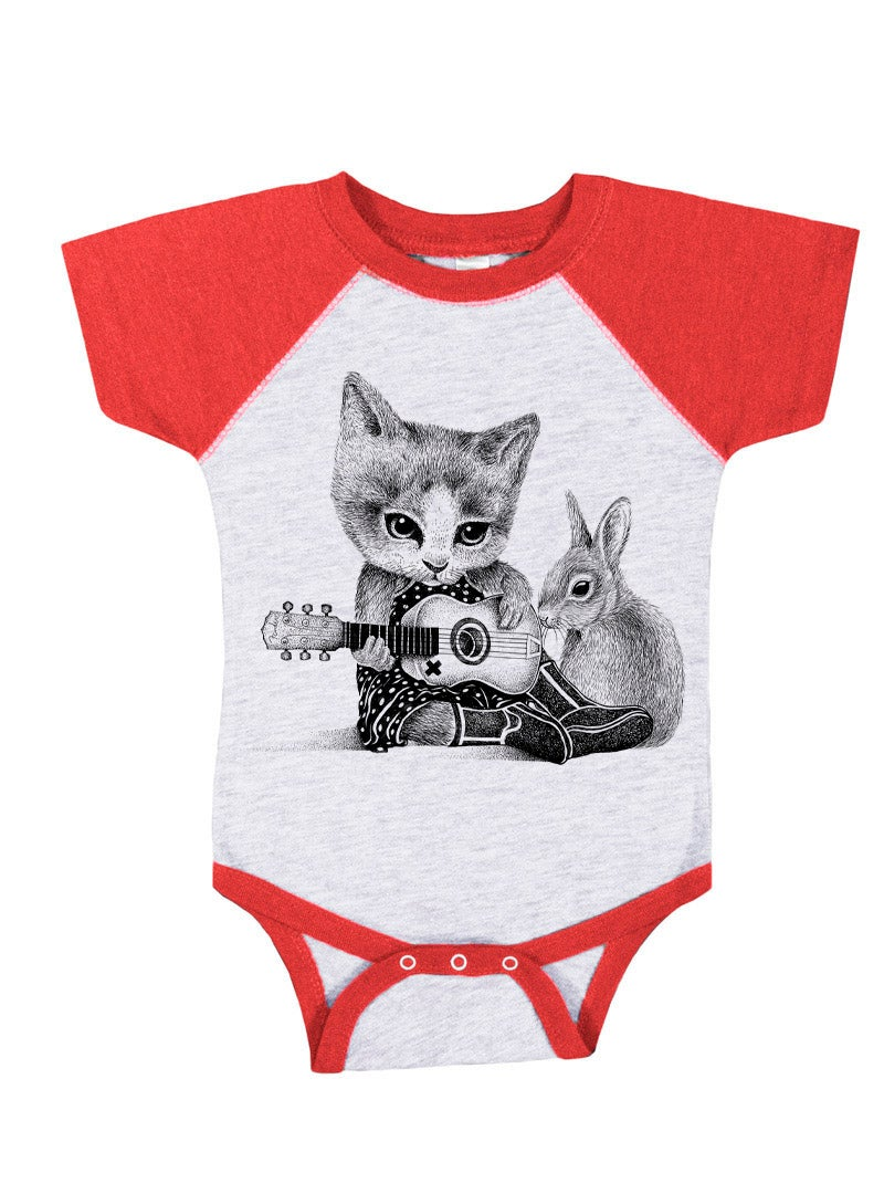 Image of Johnny Cat Onesie