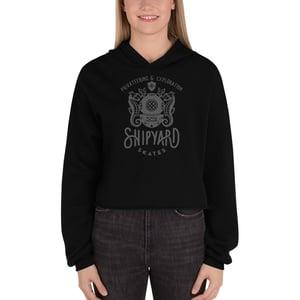 Image of Shipyard Skates PRIVATEERING Ladies Crop Hoodie