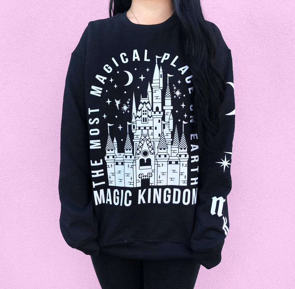 Image of Kingdom Crewneck Sweatshirt Black