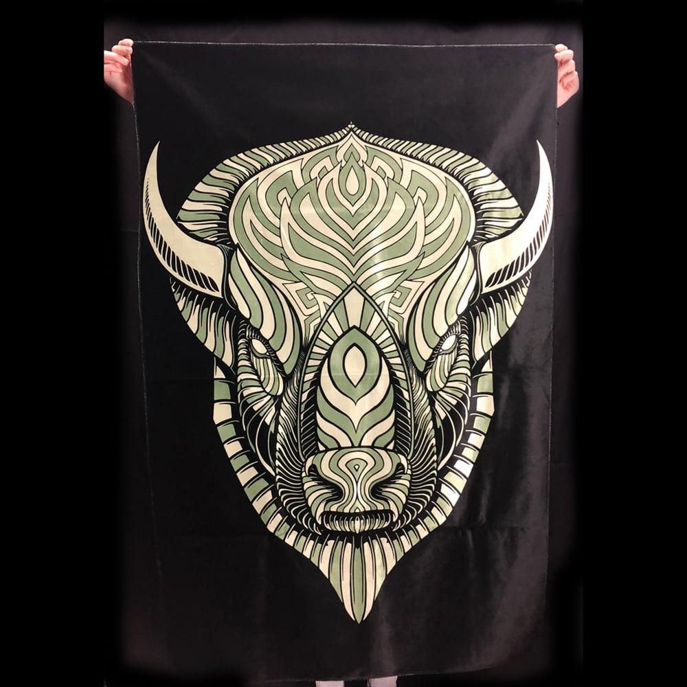 Image of Buffalo Tapestry