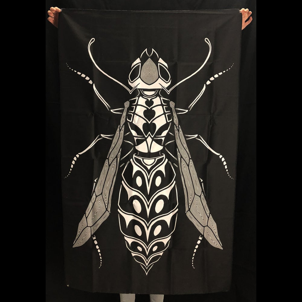 Image of WASP TAPESTRY