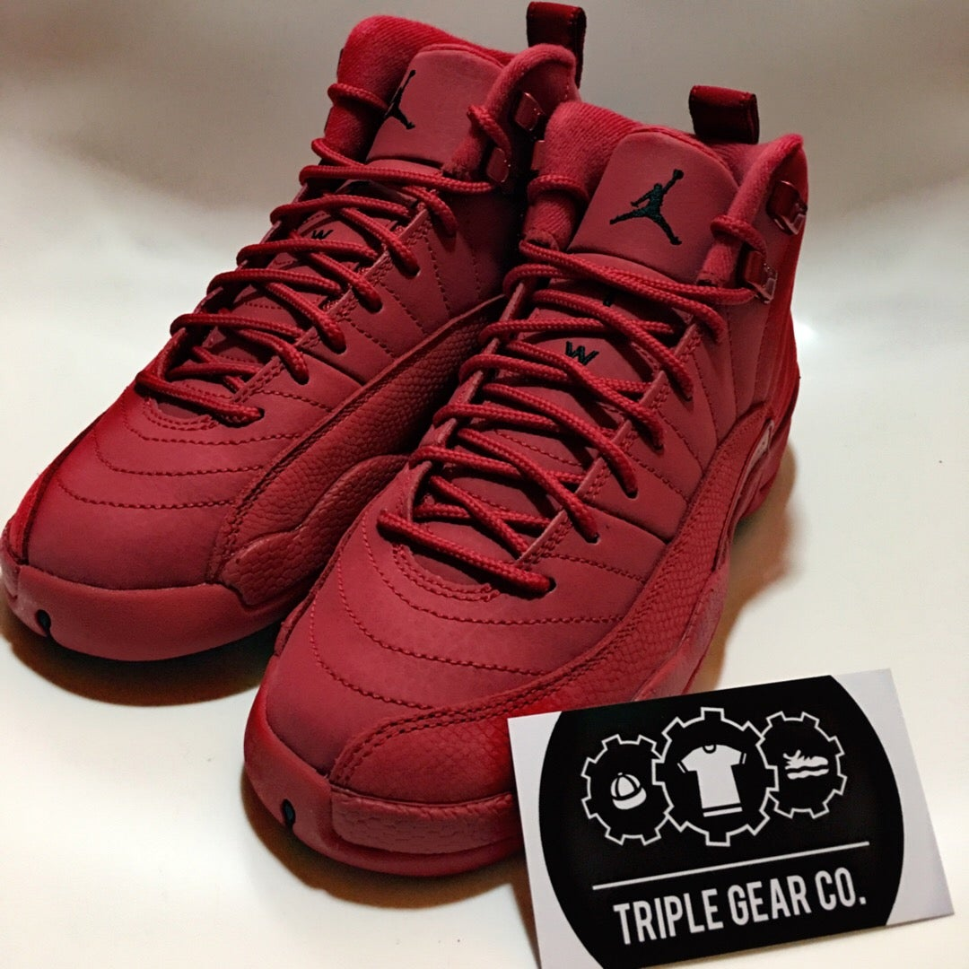 "purchase cheap 469e7 07147 Air Jordan Retro 12s ""Gym Red "" GS Kids"