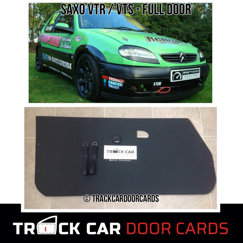 Image of Citroen Saxo - Full Door Version - Track Car Door Cards