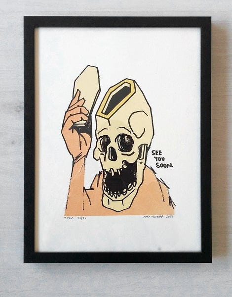 Image of See You Soon -print