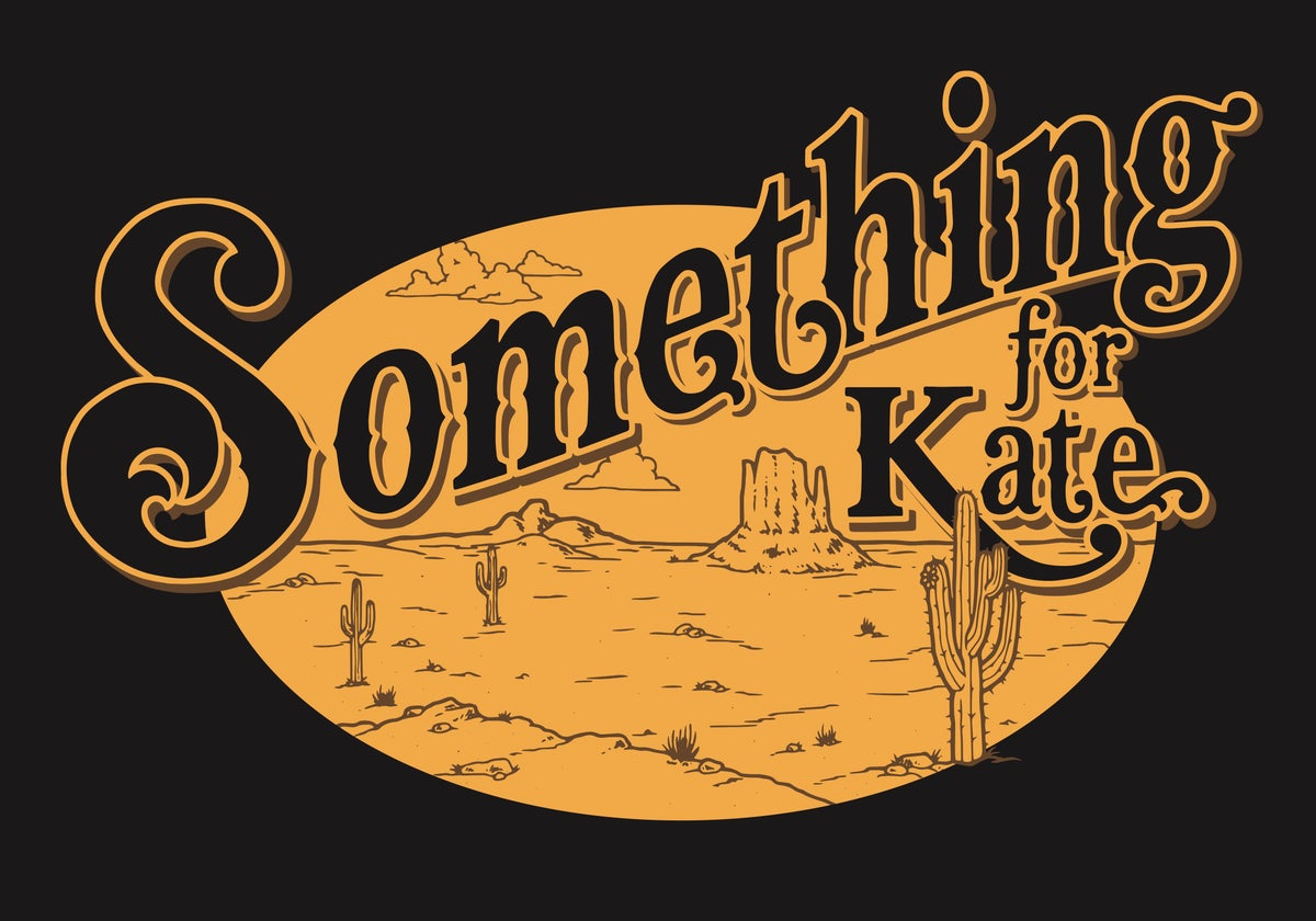 Image of Something for Kate gold logo shirt (unisex) - limited Kids sizes too!