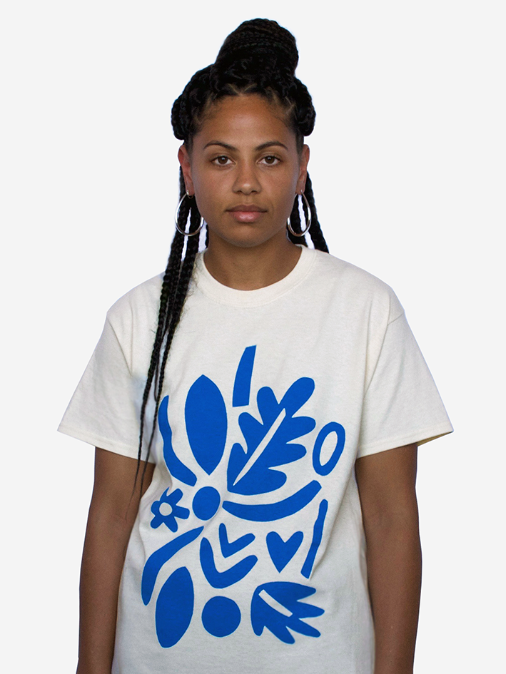 Image of 'Tropicana' Tee - Natural