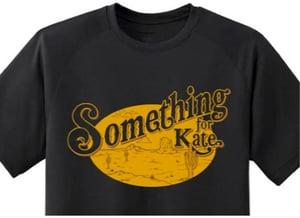 Image of Something for Kate gold logo shirt (unisex) - limited Kids sizes too!