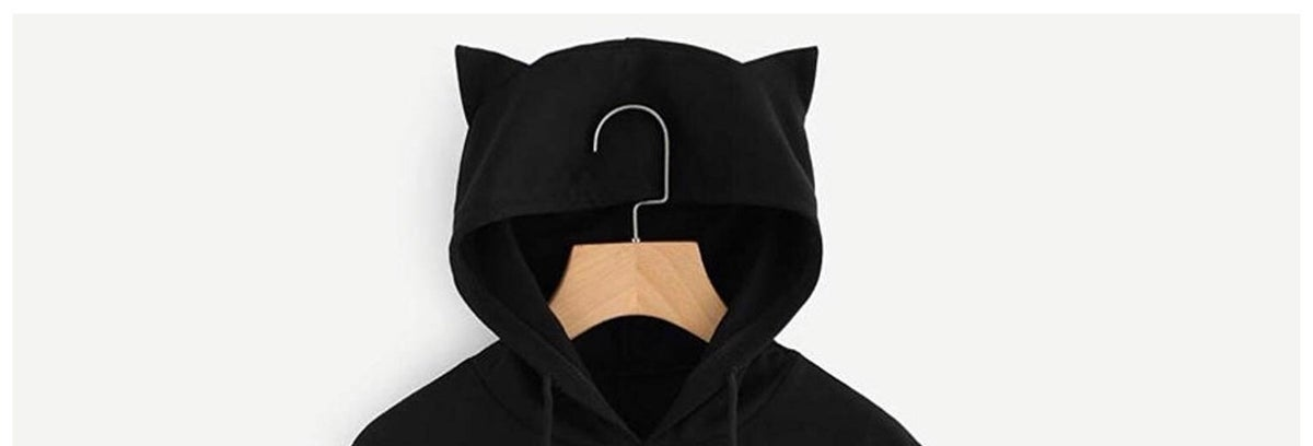 Image of Spooky Cat Mom Unisex Pullover Hoodie