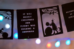 Image of Flyboy advent calendar bunting