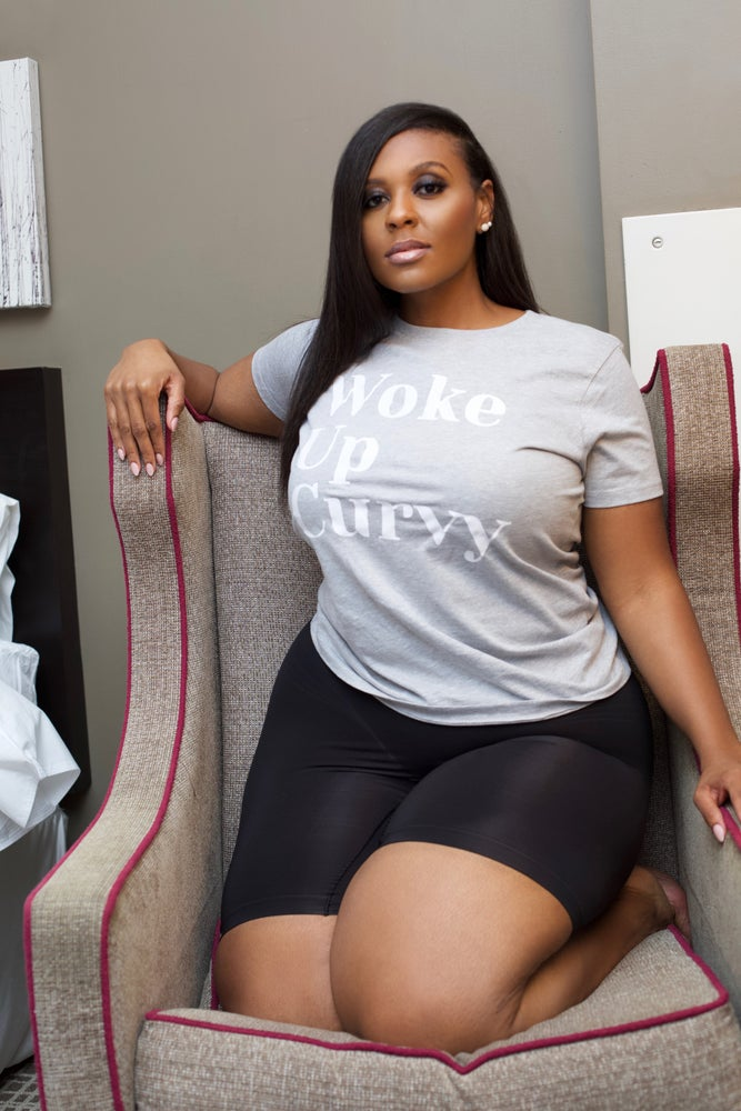 Image of 'Woke Up Curvy' Tee