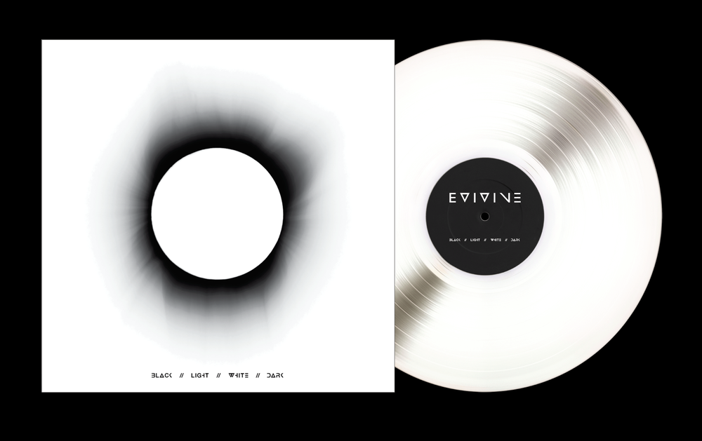 "Image of PRE-ORDER - BLACK//LIGHT//WHITE//DARK - 12"" WHITE Vinyl"