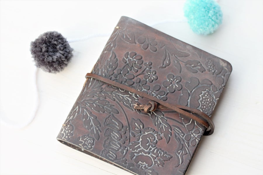 Image of Garden Leather Journal