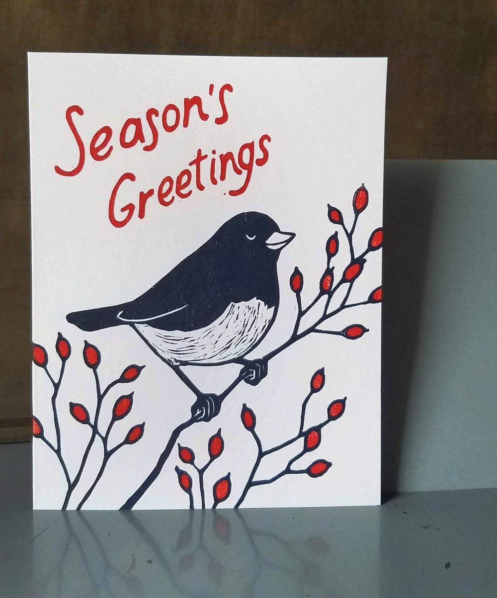Image of 2018 Holiday Junco