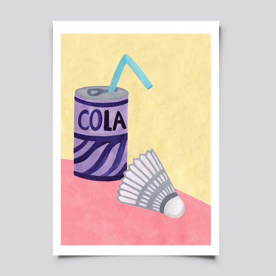 Image of still life with cola