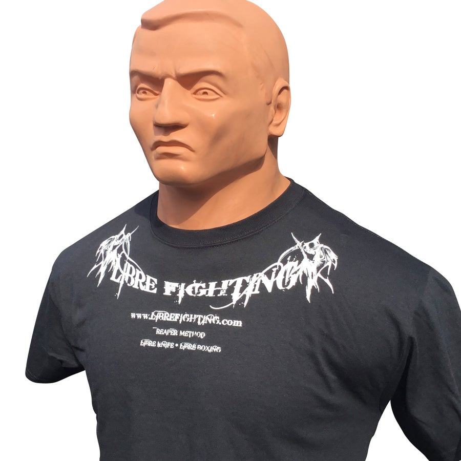 Image of Libre Fighting Classic Black Shirt