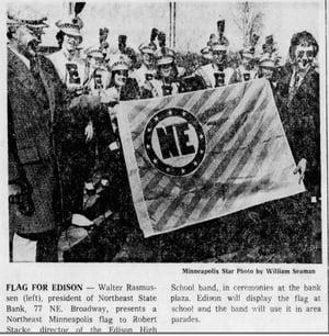 Image of Northeast Minneapolis Flag (3' x 5')