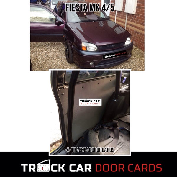 Image of Ford Fiesta MK 4/5 (REARS) - Track Car Door Cards