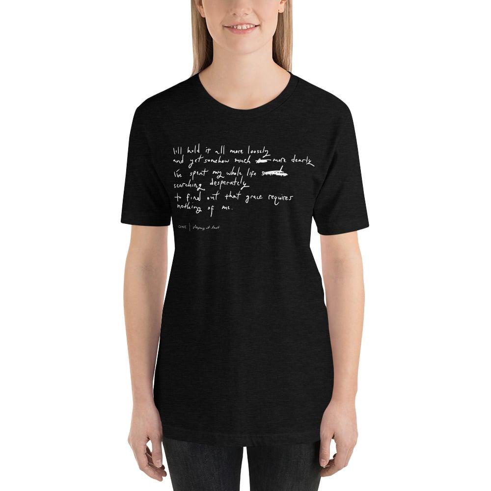 """Image of """"One"""" Handwriting Shirt"""