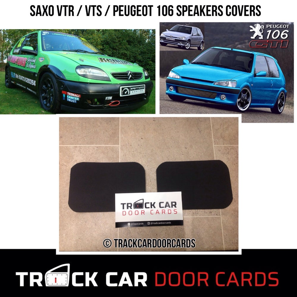 Image of Saxo VTR / VTS / Peugeot 106 Speaker Covers