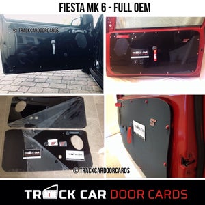 Image of Ford Fiesta MK6 - OEM - Track Car Door Cards