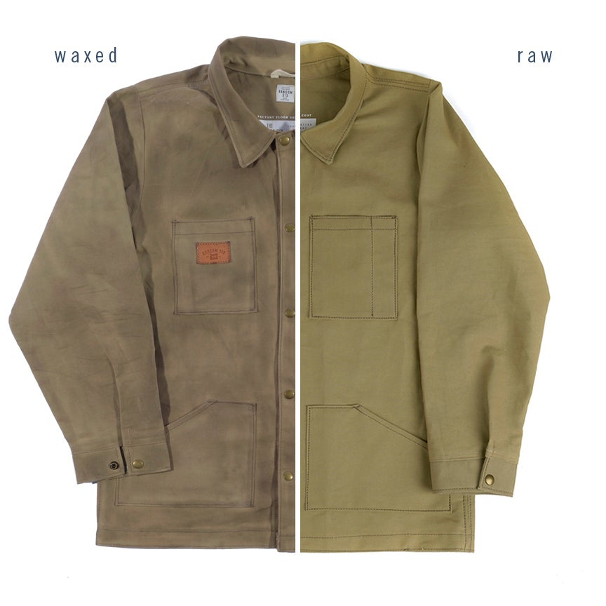 Image of Wax It Yourself - Waxed Canvas Jacket Kit