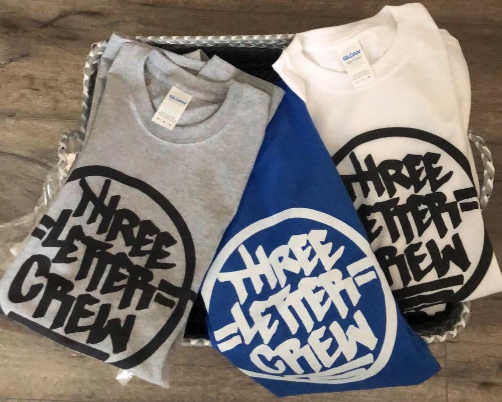 Image of Three Letter Crew Tee